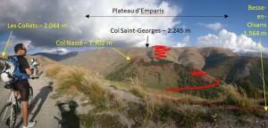 2 - Vers 1900 m dans la montée aux Collets