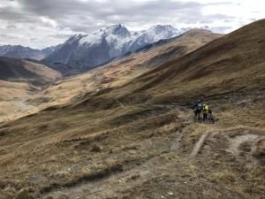 6 - A 2.300 m début de la descente scabreuse vers les chalets de la Buffe